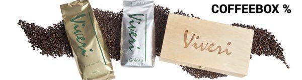 Coffeebox - Zusammenstellung erlesener Kaffee- und Espressomischungen