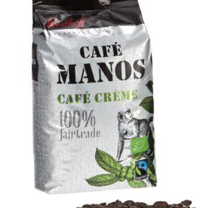 Westhoff Café Manos Espresso Kaffee 100 % Fairtrade 1kg
