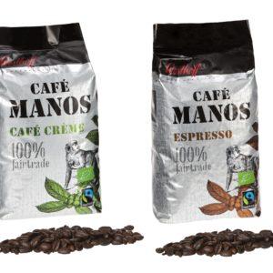 Westhoff 100% Fairtrade Box Kaffee und Espresso