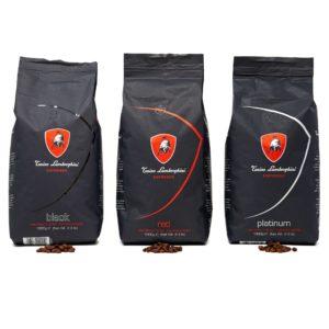 Lamborghini Coffeebox Platinum - Red - Black