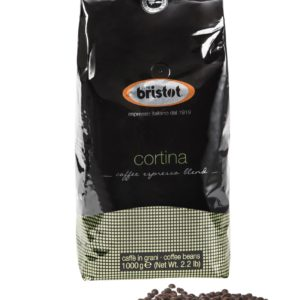 Bristot Cortina Kaffee Espresso 1 kg Ganze Bohne