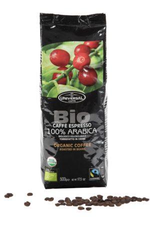 Universal Unitalia Bio Caffe Espresso 100 % Arabica 500 Gramm Bohne