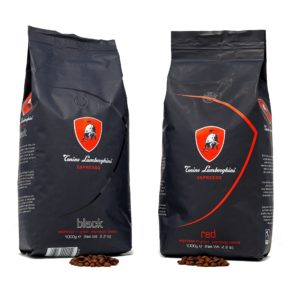 Lamborghini Coffee Box Red - Black 2 x 1kg