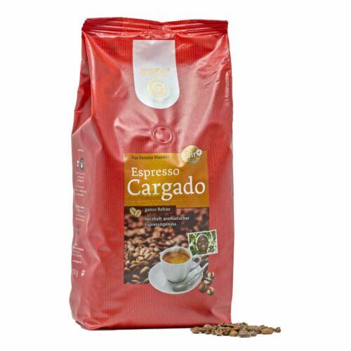 Gepa Espresso Cargado 1kg Bohne