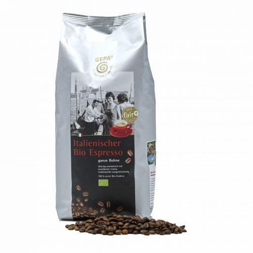 Gepa Ital. Bio 100% Arabica Espresso 250g Bohne
