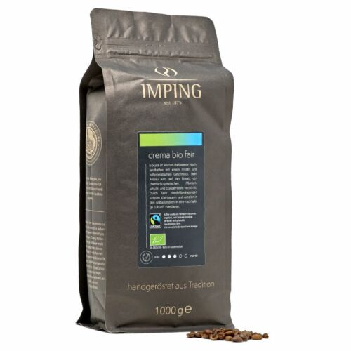 Imping Crema Bio Fair 1kg Bohne