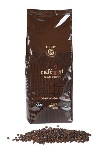 Gepa café si Espresso Kaffee Siciliano 1kg