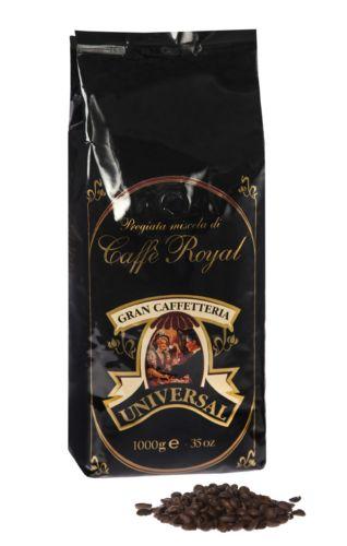 Universal Unitalia Royal Caffe 100% Arabica 250 Gramm Bohne