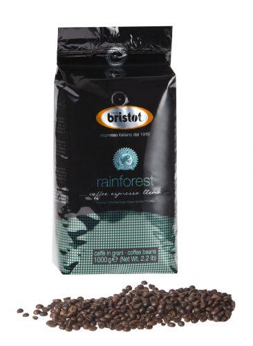 Bristot Rainforest Espresso Kaffee 1kg Ganze Bohne